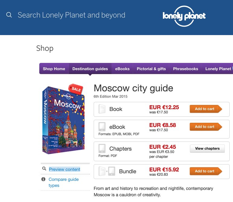 Moscow travel guidebook – Lonely Planet - Guias turisticas viaje Rusia