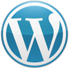 Logo WordPress Azul