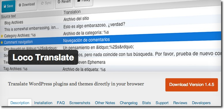 Loco Translate Plugin
