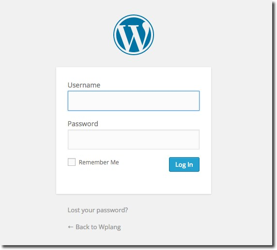 Backend WordPress