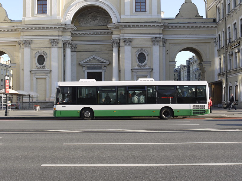Bus in St Petersburg