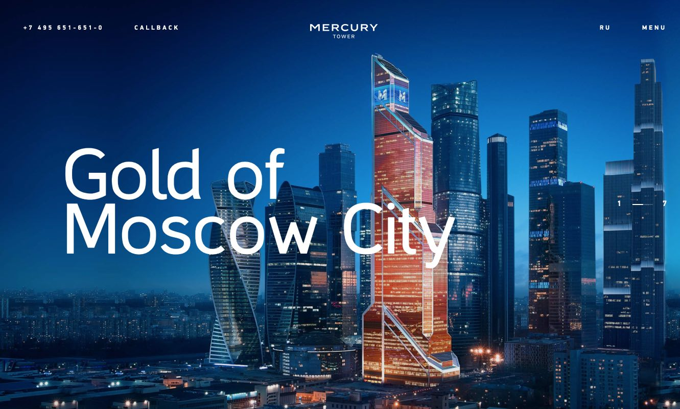Mercury Tower - Moscow City