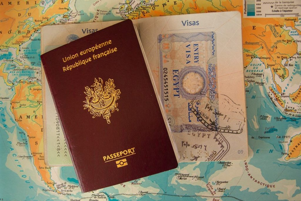 russian visa passport