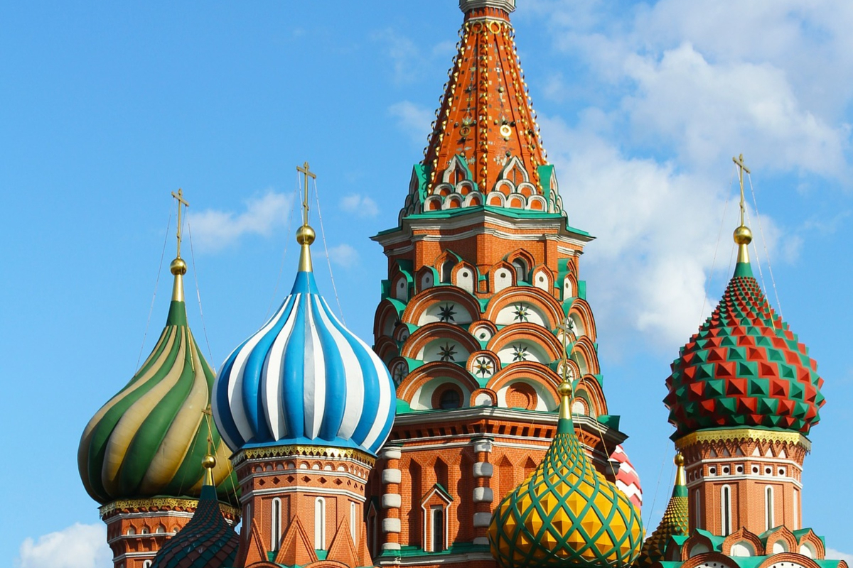 St. Basil's Cathedral in Moscow - Featured Image