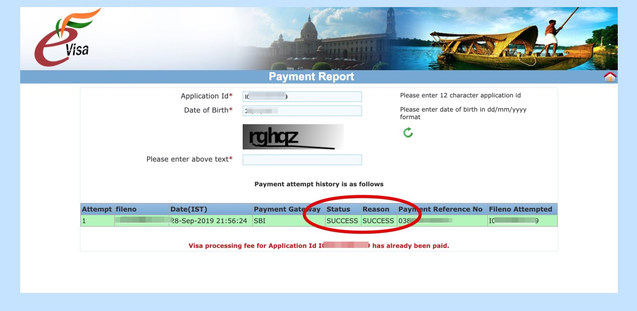 Solicitar e-Visa a India - Paso 22