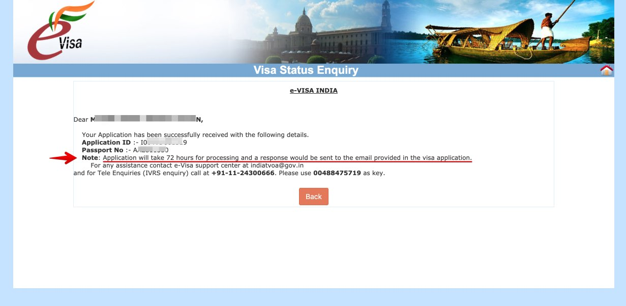 Solicitar e-Visa a India - Paso 29