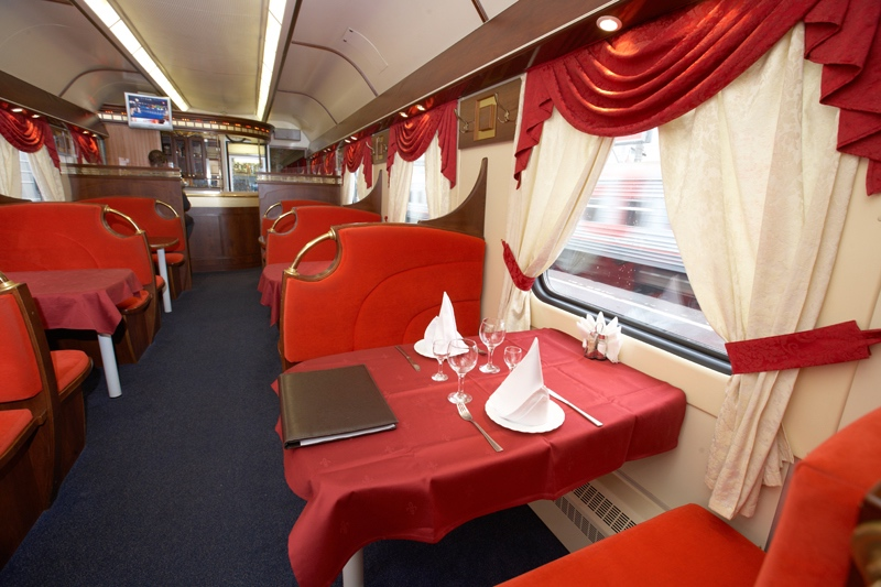 Vagon restaurante tren Grand Express